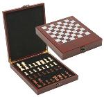 Chess Set in Satin Finished Rosewood Box